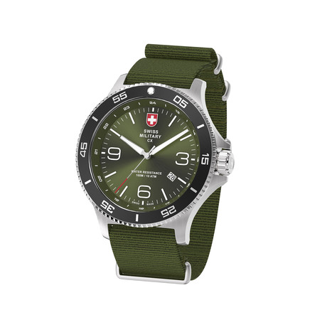 Swiss Military Infantry Quartz // 78344_5_B
