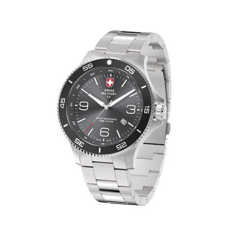 Swiss Military Infantry Quartz // 78344_5_H