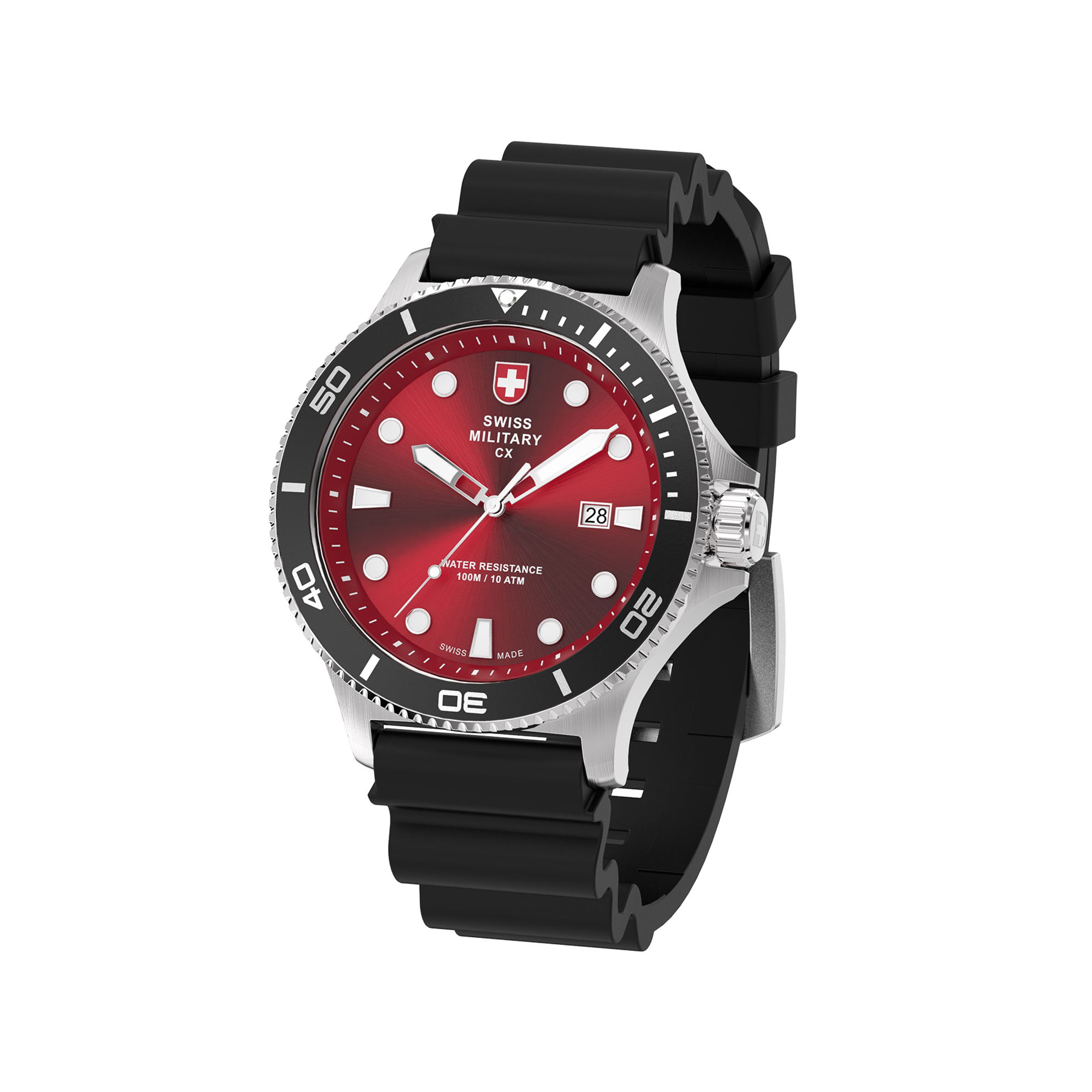 a insignia enforcement steel o resistance stainless luminox superior the an navy launches timchew water special watches warfare with caseback embossed features for seal new series law and net