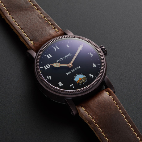 Bergstrom Matte Bronze Horizon Manual Wind + Straps // BMBH