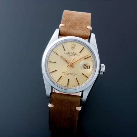 Rolex Oyster Perpetual Date Automatic // 11500 // c. 1960s //  Pre-Owned