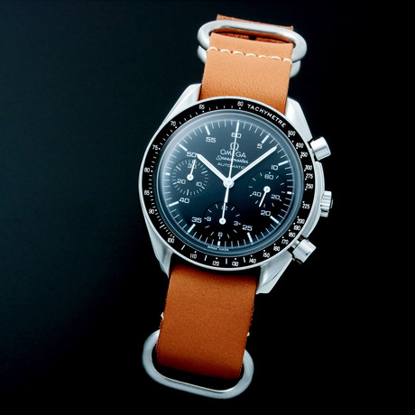 Omega Speedmaster Chronograph Automatic // 35395 // c. 2000s // Pre-Owned