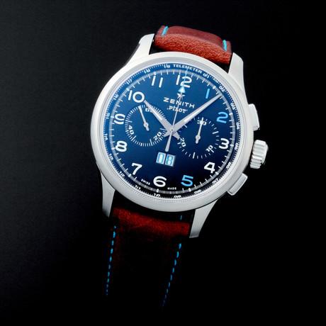 Zenith Pilot Big Date Chronograph Automatic // Limited Edition // 3.2415.4010 // Unworn