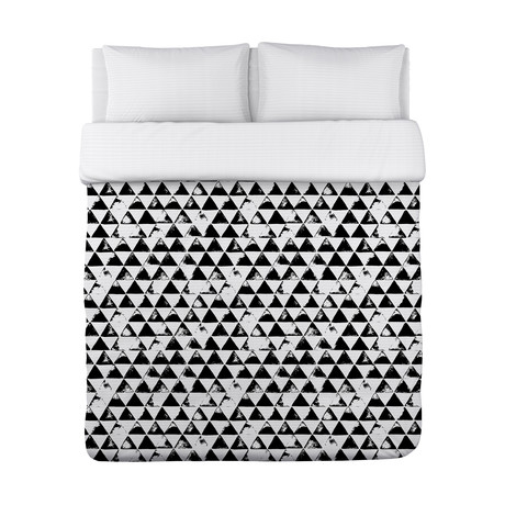 Faded Triangles // Duvet Cover
