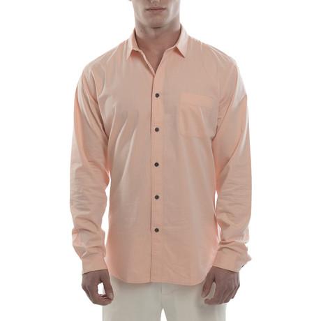 Dunmore Chambray Shirt // Coral (S)