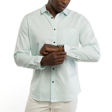 Dunmore Chambray Shirt // Mint (S)