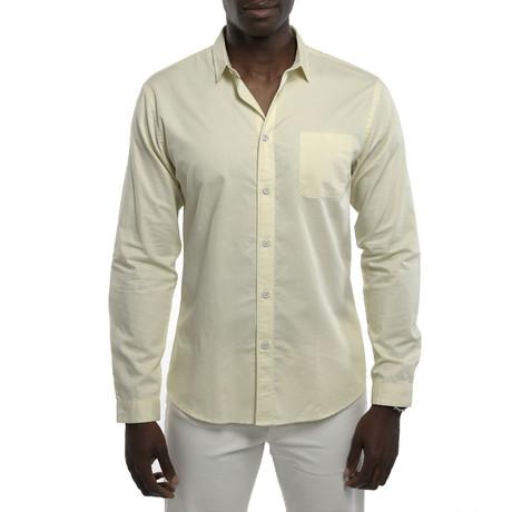 Dunmore Chambray Shirt // Yellow (S)