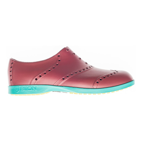 Brights Oxford // Brick Red + Teal (US: 7)