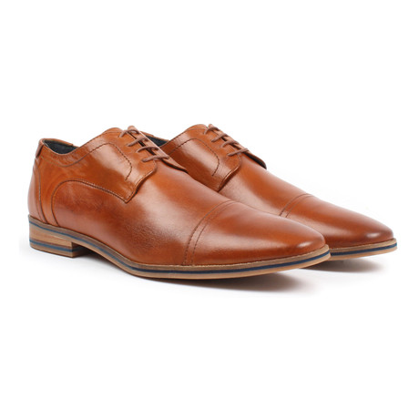 Cap-Toe Derby // Tan (US: 6)