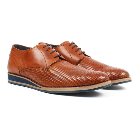 Textured Men's Oxford // Tan (US: 6)