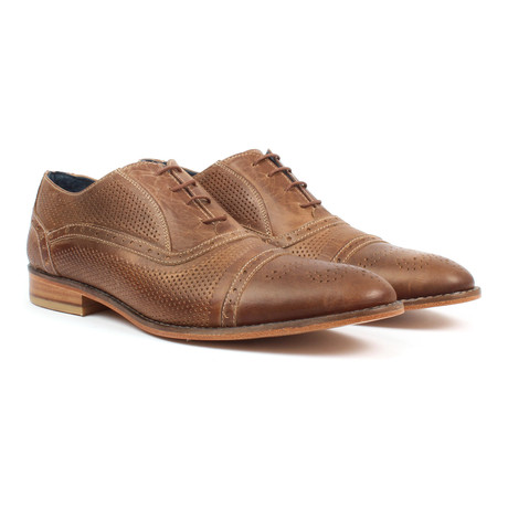 Cap-Toe Oxford // Taupe (US: 6)