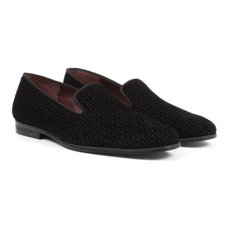 Textured Loafers // Black (US: 6)