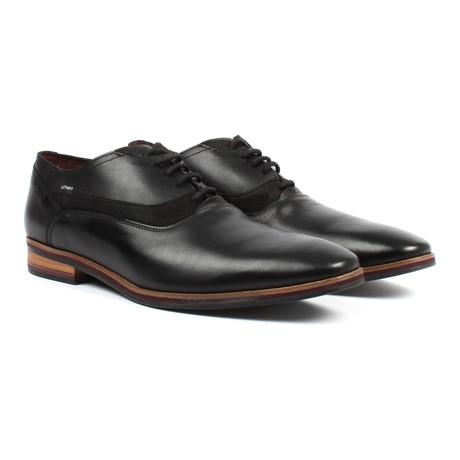Plain Toe Oxford // Black (US: 7)