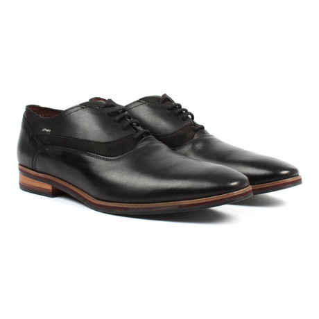 Plain Toe Oxford // Black (US: 6)
