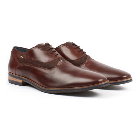 Plain Toe Oxford // Mocha