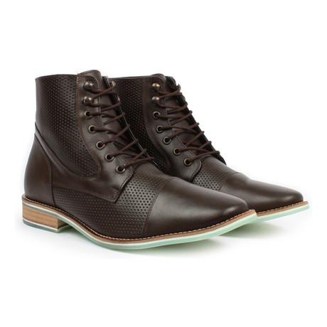 Cap-Toe Boot // Brown