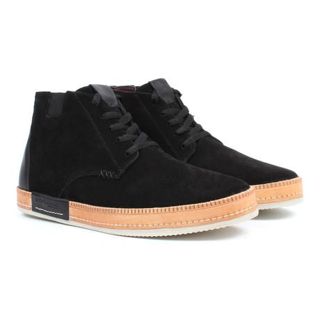 High-Top Chukka Sneaker // Black