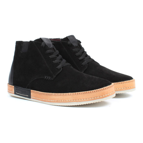 High-Top Chukka Sneaker // Black (US: 6)