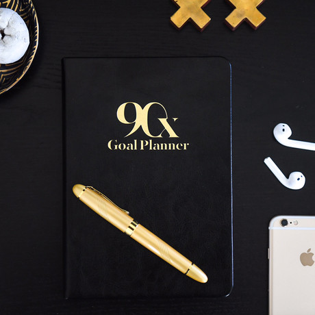90-Day Goal Planner // Classic Collection (Black)