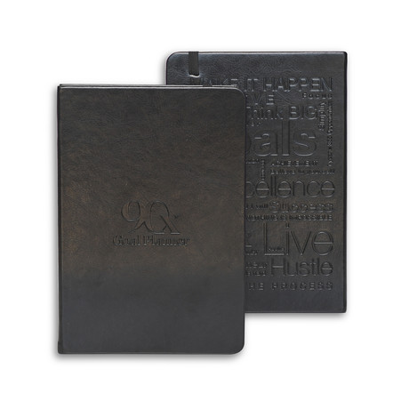 90-Day Goal Planner // Leeam Collection (Black)