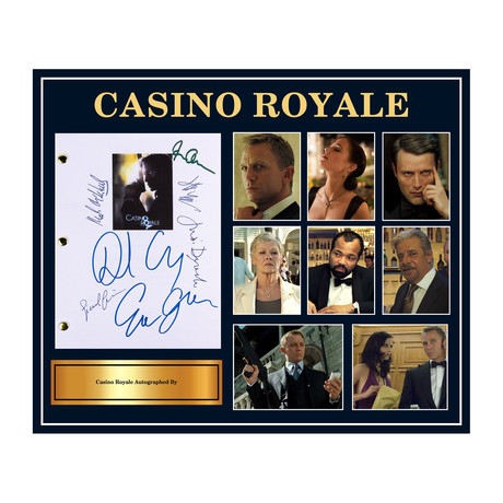Signed Script // Casino Royale