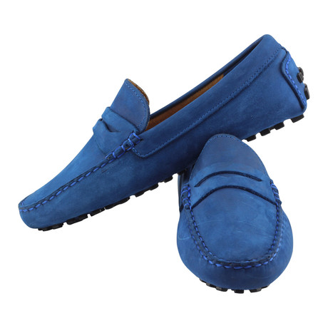 Deluxe Driving Penny Loafer // Blue (US: 7)
