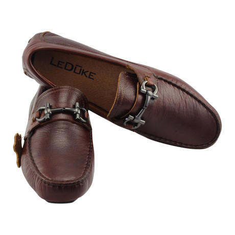 Deluxe Driving Horsebit Loafer // Burgundy (US: 7)