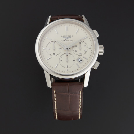 Longines Heritage Chronograph Automatic // L27494722 // Store Display