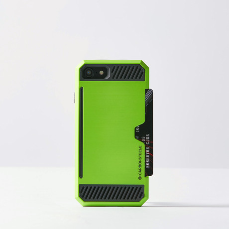 Luxury iPhone Case // Green