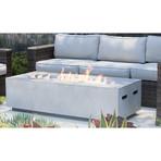 Coronado Cast Concrete Fire Pit Table