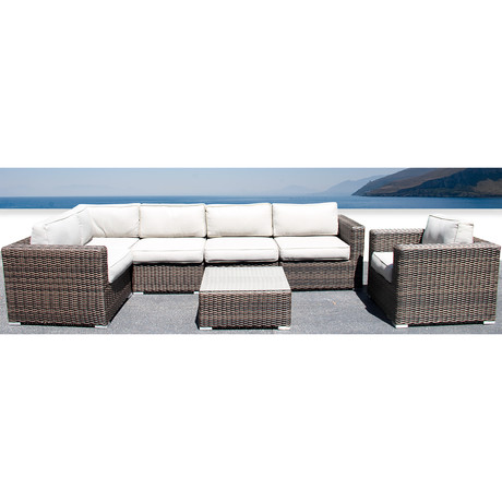 Marbella Deep Seating // 7 Piece Set