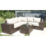 Manchester Cup Table Sectional // 8 Piece Set