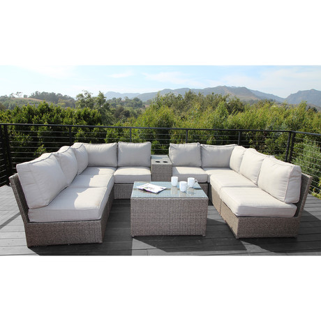 Kingston Sectional // 10 Piece Set