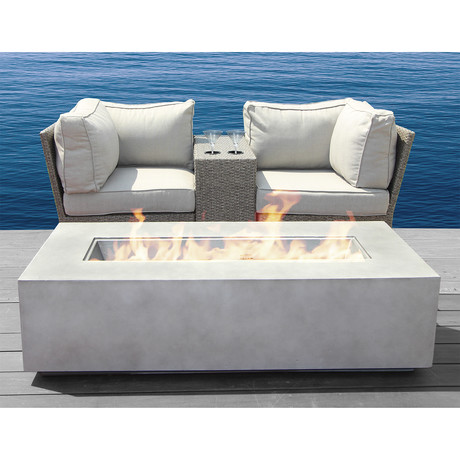 Kingston Cup Table Fire Pit // 4 Piece Set