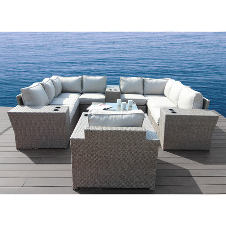 Kingston Sectional Club // 13 Piece Set