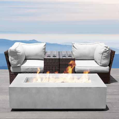 Manchester Cup Table Fire Pit // 5 Piece Set
