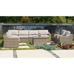 Del Rey Sectional Conversation // 11 Piece Set