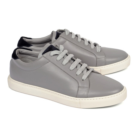 Classic Lace-Up Sneaker // Grey