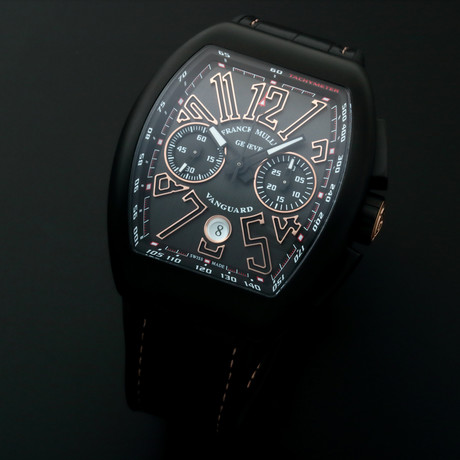 Franck Muller Vanguard Chronograph Automatic // V45CCDT // Unworn