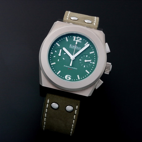 European Company Watch Chronograph Automatic // Limited Edition // F11 // Pre-Owned
