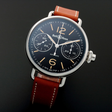 Bell & Ross One Button Chronograph Automatic // BRWW1 // Unworn
