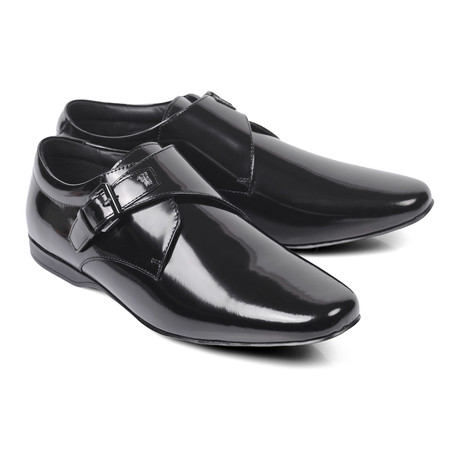 Patent Point Toe Single Monk // Black