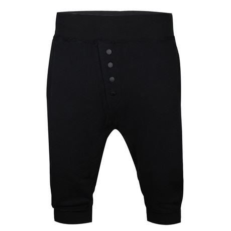 Logan Sweat Short // Black