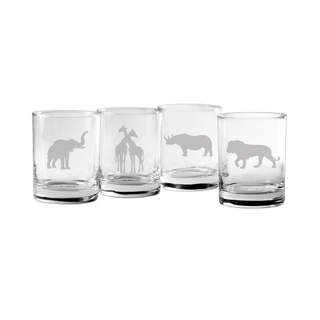 Big Game Assortment (Pint Glasses // Set of 4)