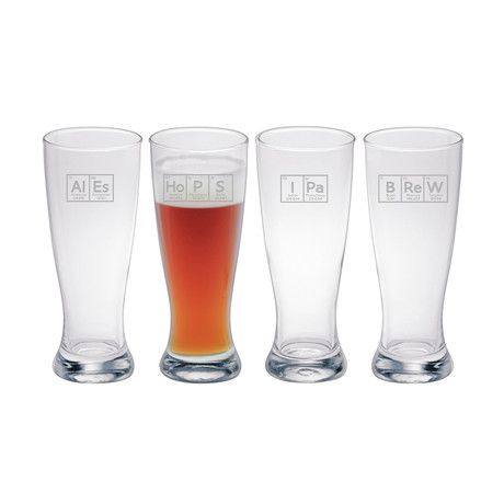 Elements of Hoppiness Assortment (Beer Can Glass // Set of 4)