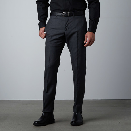 Monaco Solid Pant // Charcoal