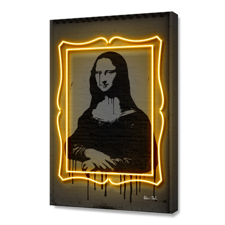 "Mona Lisa // Stretched Canvas (16""W x 24""H)"