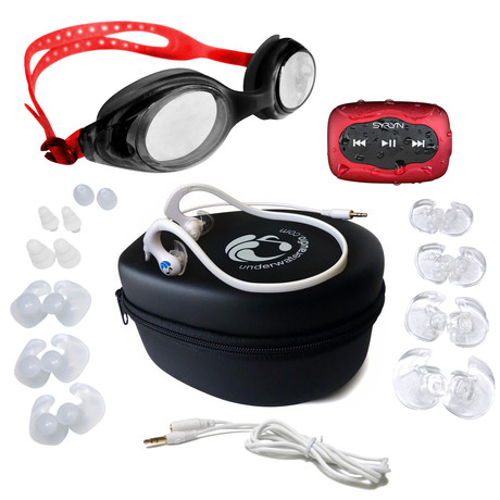 SYRYN Waterproof MP3 Player + HydroActive Bundle