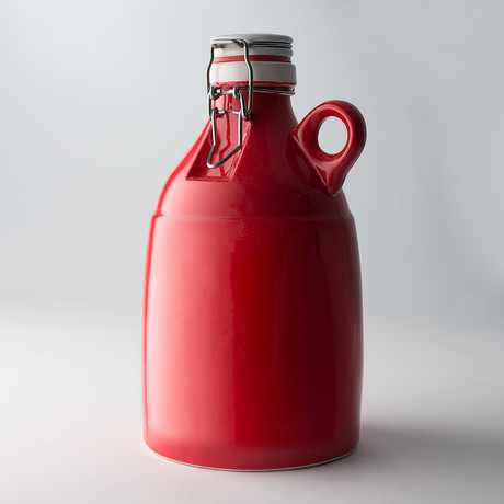 The Loop Growler // Gloss Red