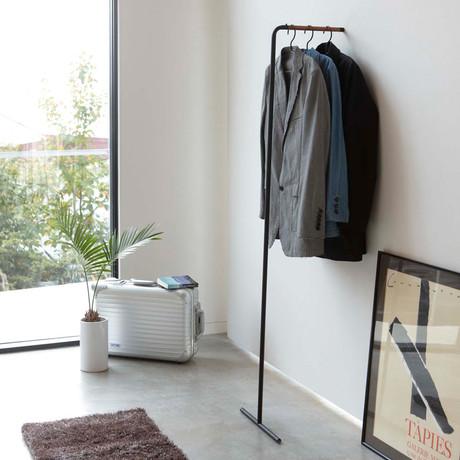 Tower // Leaning Slim Coat Hanger (White)